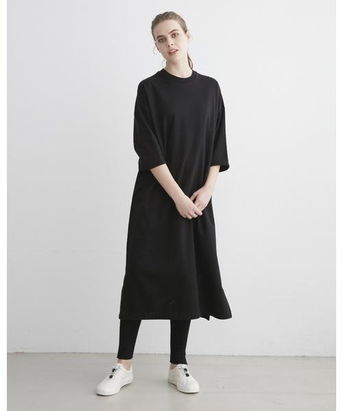 低価格で大人気の SLIT LONG LONG T-DRESS(ドレス)|Traditional TRADITIONAL Weatherwear(トラディショナルウェザーウェア)のファッション通販, 河南町:4d2d5e51 --- ulasuga-guggen.de