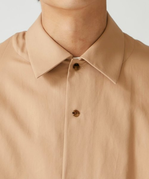ETHOSENS(エトセンス)の「【ETHOSENS】ボタンアップスリーブシャツ(シャツ/ブラウス)」|詳細画像
