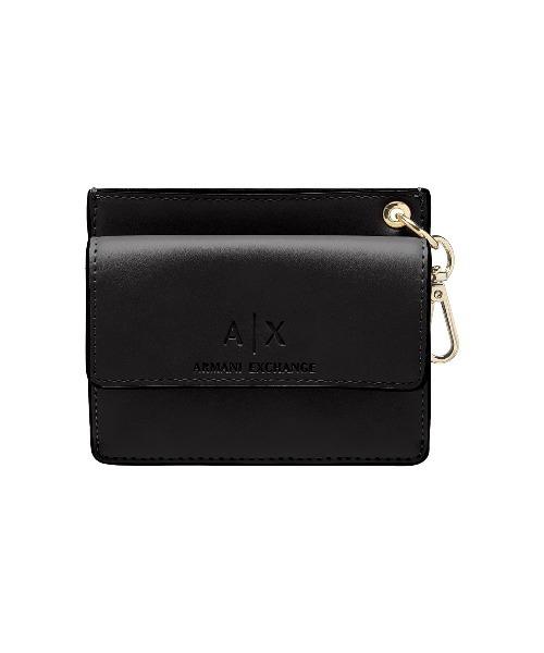 【A|X アルマーニ エクスチェンジ】フック付きミニ財布