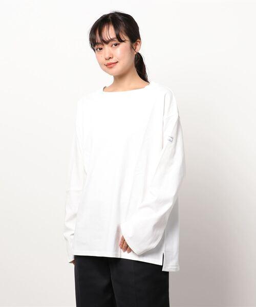 【 MONT KEMMEL / モンケメル 】BIG BASQUE LS TEE ビックシルエットTシャツ