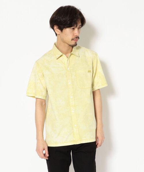 MANASTASH/マナスタッシュ BLEACH OUT SHIRT/ブリーチアウトシャツ