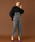 UNITED TOKYO(ユナイテッドトウキョウ)の「スタンドカラーバックリングブラウス(シャツ/ブラウス)」|詳細画像