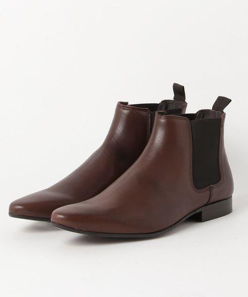 【新品本物】 アラウンドザシューズ/around the MADE shoes MADE IN PORTUGAL チェルシーブーツ(黒 shoes around・ダークウッド)(ブーツ)|around the shoes(アラウンドザシューズ)のファッション通販, house BOAT:97a2bc7c --- 5613dcaibao.eu.org