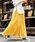 Fashion Letter(ファッションレター)の「コットンティアードスカート(スカート)」|マスタード
