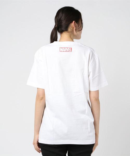 Disney Lifestyle Collection(MARVEL) マーベルTシャツ カラフルロゴ