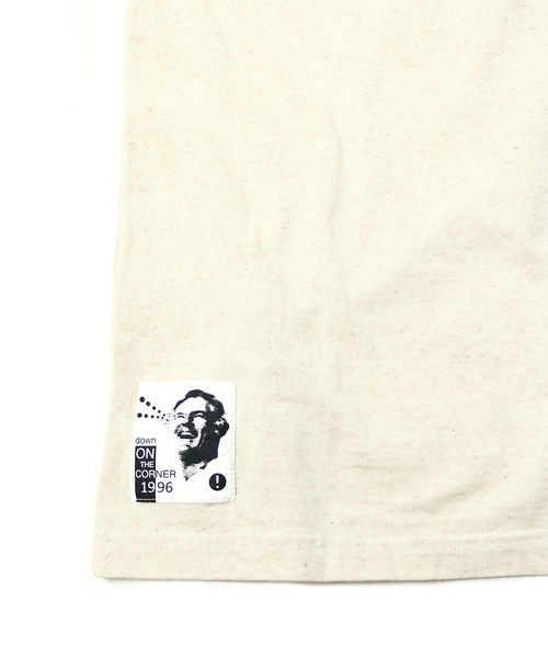 DOWN ON THE CORNER(ダウンオンザコーナー)の「S/S HEMP COTTON TEE'COLORS'(Tシャツ/カットソー)」|詳細画像