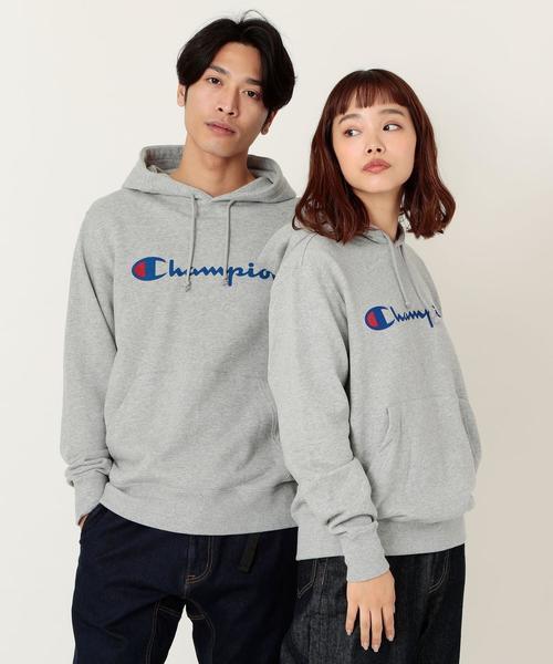 【女性にもオススメ】Champion(チャンピオン)プルオーバースウェットパーカー