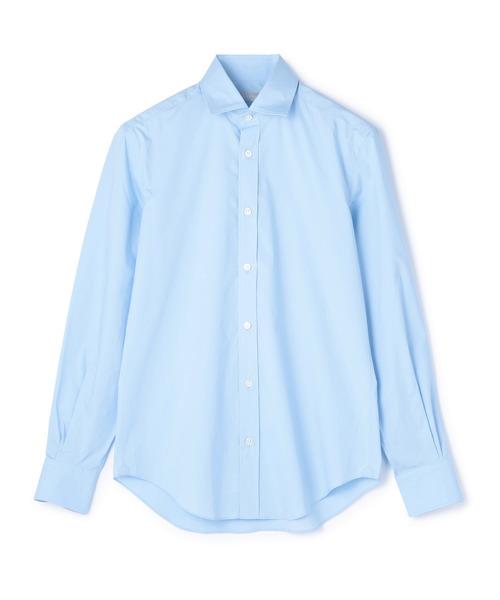 ESTNATION / ストレッチブロードセミワイドカラーシャツ