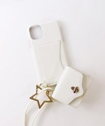 【 Hashibami / ハシバミ 】 # ミニポーチ付き 11/XR iphoneケース Ha-2004-715オフホワイト