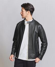 【WEB限定】 by シープ シングル ライダースジャケット