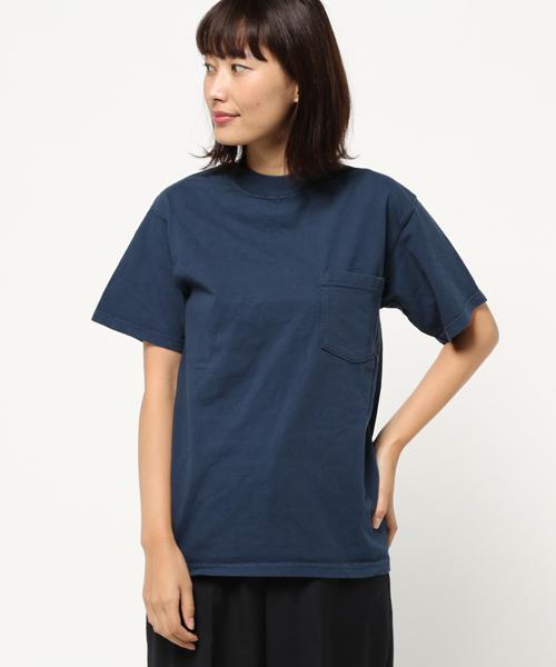 【Goodwear/グッドウェア】DC 7.2oz クラシックネックポケットTシャツ