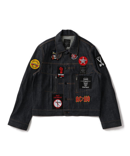 AVES CES FRERES by ART COMES FIRST(アート カムズ ファースト) BR DENIM JACKET