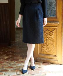 ROPE' PICNIC(ロペピクニック)のアラベスクジャガードタックスカート(スカート)