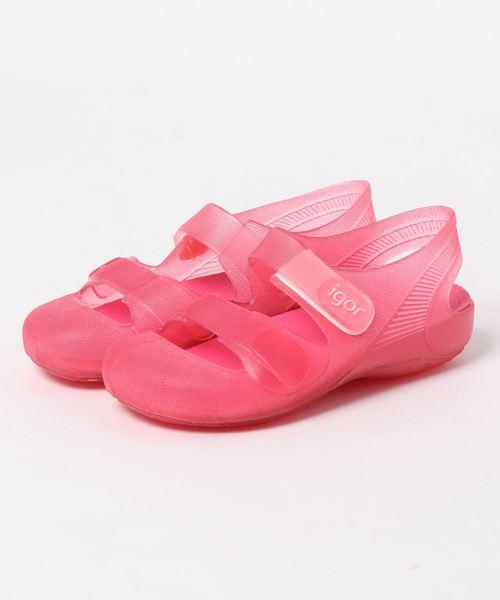 igor(イゴール)の「igor/イゴール/Sandals/キッズサンダル 水遊び/BONDI(サンダル)」|ピンク