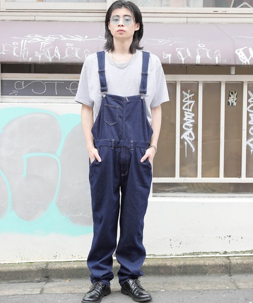 【BASQUE -enthusiastic design-】デニム オーバーオール /ユニセックス