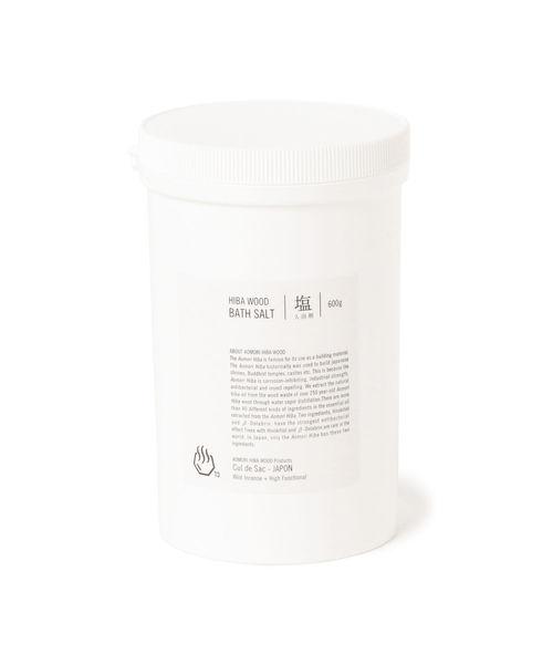 BEAMS JAPAN(ビームス ジャパン)の「Cul de sac JAPON / HIBA バスソルト (入浴剤)(入浴剤)」|その他1