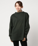 BLACK BY MOUSSY | middle neck Long Sleeve tops(Tシャツ・カットソー)