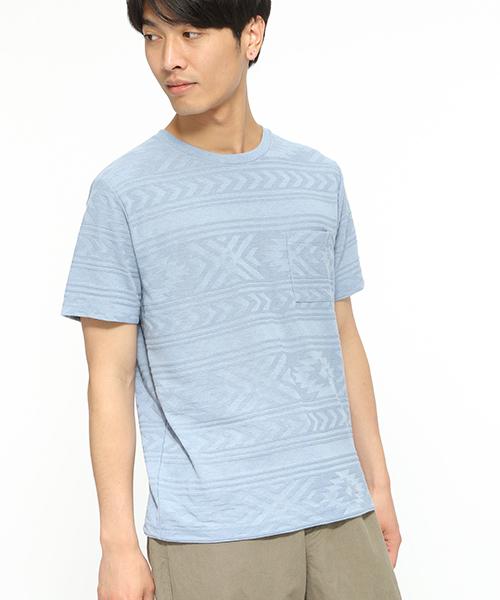 【吸水速乾】ネイティブ柄Tシャツ / LAKOLE