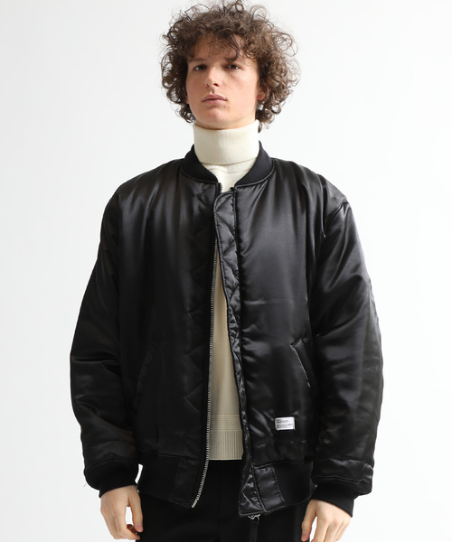 【BEDWIN & THE HEARTBREAKERS】VELVETINE TYPE MA-1 JACKET 'GUNDY'