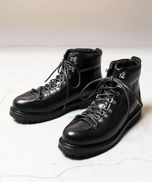 BUTTERO(ブッテロ)の「BUTTERO(ブッテロ) B4382 トレッキングブーツ(ブーツ)」|ブラック