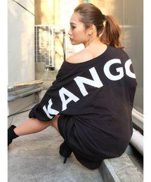 KANGOL(カンゴール)の【RESEXXY×KANGOL】BIGロゴロンT(Tシャツ/カットソー)