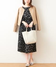 natural couture(ナチュラルクチュール)のおしゃれプリーツワンピース(ワンピース)