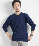URBAN RESEARCH | UR CABLE KNIT P/O(ニット・セーター)