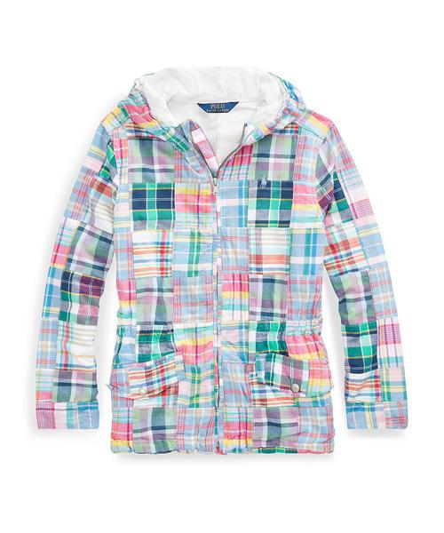 0d311e96d1187 Polo Ralph Lauren Childrenswear(ポロ キッズ)のコットン マドラス ジャケット(ブルゾン)