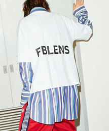 WEB限定 BLUE ENCOUNT×FREAK'S STORE/ブルーエンカウント 別注 FBLENS BOX LOGO TEE/ボックスロゴ 半袖Tシャツ(Tシャツ/カットソー)