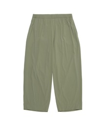 SPRING2021 RIBBED EASY PANTSグレー