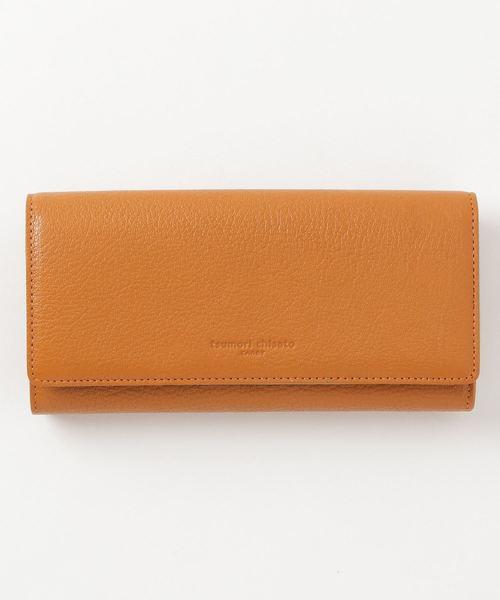 グレンチェックライニング 長財布