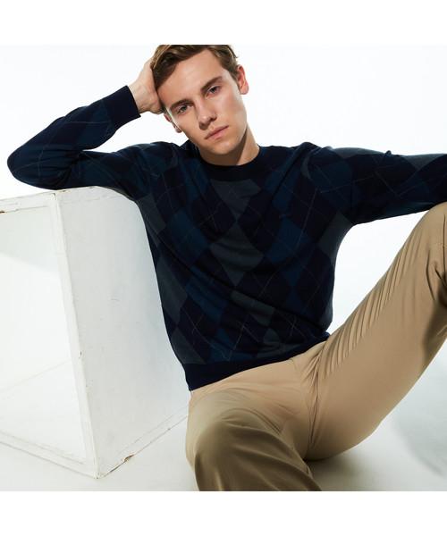 お気に入り アーガイルクルーネックセーター(ニット/セーター)|LACOSTE(ラコステ)のファッション通販, オオタマチ:a335e09a --- innorec.de