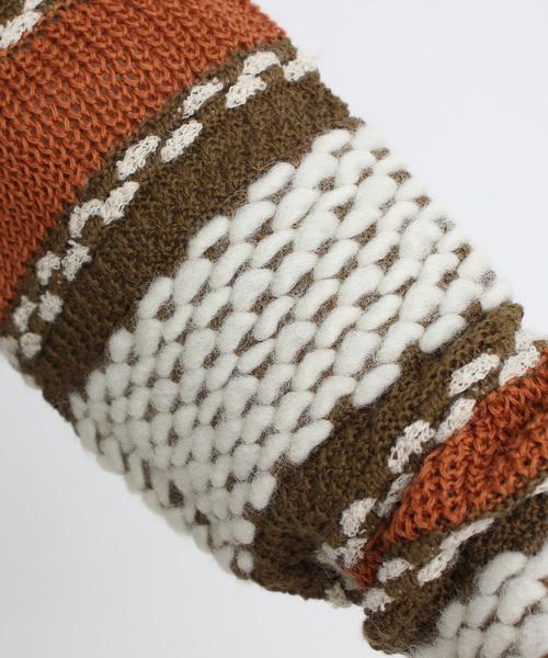 AMBIDEX(アンビデックス)の「■kb 袖ボーダー タートルプルオーバー(ニット/セーター)」|詳細画像