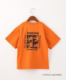 〔別注〕ロゴ刺しゅうTシャツ/ ジュラシックパーク