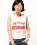 SHIPS for women | THE LAUNDRY ROOM:MERMAIDロゴノースリーブ(タンクトップ)