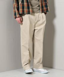 <H>NIDOM CHINO WIDE 2P PANTS/パンツ