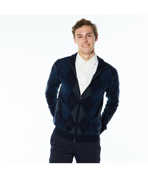 【ラッピング不可】 アーガイルジップカーディガン(カーディガン)|LACOSTE(ラコステ)のファッション通販, イワイズミチョウ:63030f6e --- bebdimoramungia.it