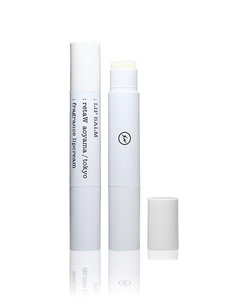 Fragrance Lip Balm retaW × Fragment Design WHITE