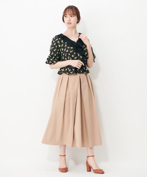 タックロングスカート