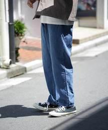 FREAK'S STORE(フリークスストア)の【ユニセックスでオススメ!/16色展開】シェフパンツ/バギーパンツ/chef pants/ビッグシルエットパンツ/ツイル/コーデュロイ/ペイズリー/カモフラージ(パンツ)