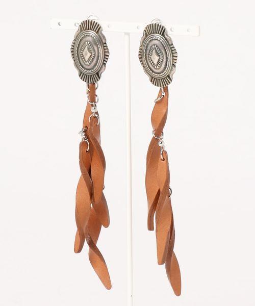 【お買得!】 【THE DALLAS】leather twist earring earring Span,スピック/ レザーツイストイヤリング(イヤリング(両耳用))|Spick & Spick Span(スピックアンドスパン)のファッション通販, ムラオカチョウ:5662dc4f --- annas-welt.de