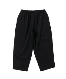 FALL2020 CROPPED EASY PANTSブラック