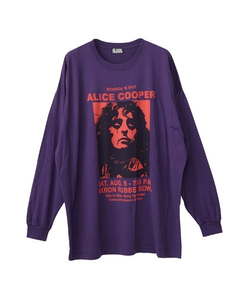 ALICE COOPER/LIVE1972 オーバーサイズTシャツ