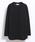 10 by juha stable garments(テンバイユハ ステーブルガーメンツ)の「SOFT L/S TEE(Tシャツ/カットソー)」|ブラック