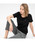 LACOSTE(ラコステ)の「コットンジャージークルーネックTシャツ(半袖)(Tシャツ/カットソー)」|ブラック