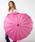 Fort Umbrella(フォートアンブレラ)の「ハート傘(長傘)」 ピンク