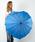 Fort Umbrella(フォートアンブレラ)の「ハート傘(長傘)」 ブルー