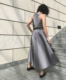 a60567c91f8a9 Ameri VINTAGE(アメリヴィンテージ)の「LADY TUCK FLARE DRESS(ワンピース)」