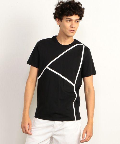 online retailer 9dec6 31fe7 【A|Xアルマーニ エクスチェンジ】ビッグAXロゴ クルーネック半袖Tシャツ