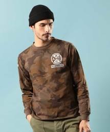 AVIREX(アヴィレックス)のクルーネックTシャツ ハロ/CREW NECK T-SHIRT HALO【Avirex Military Camp】(Tシャツ/カットソー)
